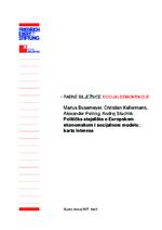 Politička stajališta o Europskom ekonomskom i socijalnom modelu