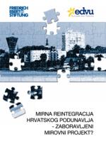 Mirna reintegracija hrvatskog Podunavlja - Zaboravljeni mirovni projekt?